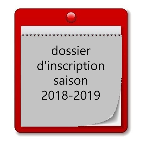 Dossier d'inscription – licences 2018-2019