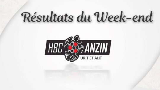 [ RÉSULTAT MATCH ] Week-end du 9 et 10 Novembre 2019